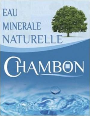 logo eau minérale naturelle chambon saphy