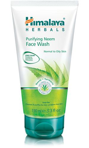 Gel nettoyant purfiant visage neem Himalaya Herbals saphy