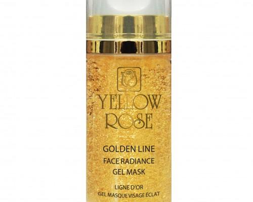 masque extraordinaire antirides visage ligne d'or yellow rose saphy