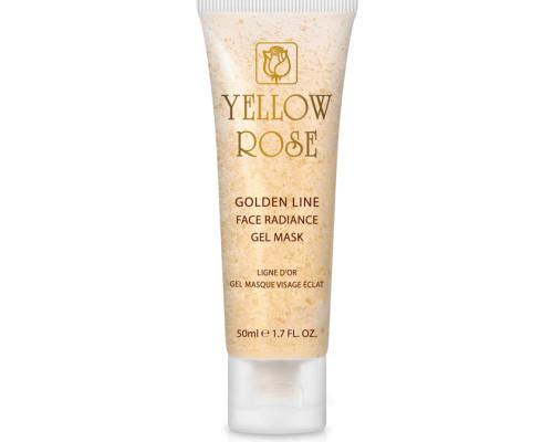 masque visage eclat ligne d'or yellow rose cosmetics
