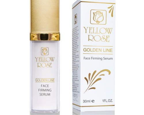 serum raffermissant antirides ligne d'or yellow rose cosmetics