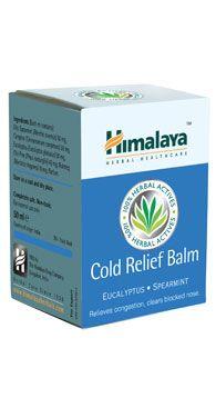 Baume anticoup de froid Himalaya Herbals saphy
